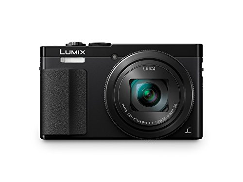Panasonic DMC-TZ71EG-K Lumix Kompaktkamera (12,1 Megapixel, 30-fach opt. Zoom, 7,6 cm (3 Zoll) LCD-Display, Full HD, WiFi, USB 2.0) schwarz