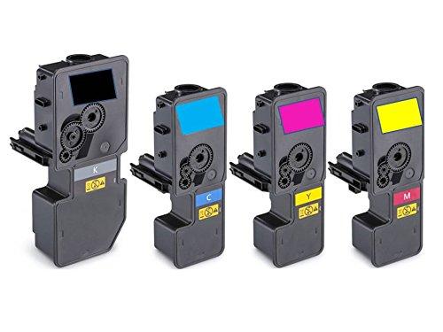 Preisvergleich Produktbild 4x Toner SPARSET (BK,C,M,Y) kompatibel zu Kyocera ECOSYS M 5526 cdn cdw P 5026 cdn cdw 1x black, 4.000 Seiten, 1x cyan, magenta, yellow, je 3.000 Seiten, ersetzt TK-5240K TK-5240C TK-5240M TK-5240Y