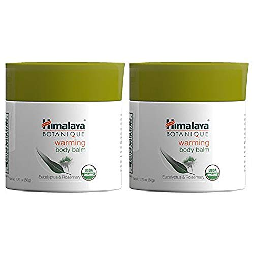 Himalaya Organic Warming Body Balm with Eucalyptus, Rosemary and Coconut...