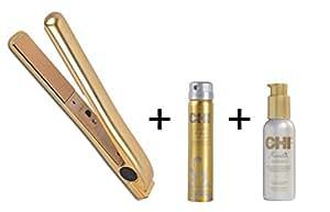 Lisseur céramique CHI Keratin + CHI Laque CHI Keratin 74 G + Traitement lissant CHI Keratin 115 mL