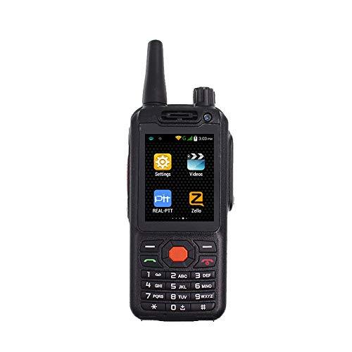 HM2 4G LTE Android Walkie Talkie Netzwerk Telefon Funksprechanlage Smartphone PTT Funk Quad Core Dual Card Dual Mode - Schwarz Qvga-touch-screen