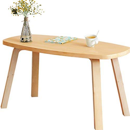 Trainings-raum Möbel (Massivholz Nordic Couchtisch Wohnzimmer Einfache Kleine Wohnung Möbel Kreativen Raum Mini Einfache Moderne Kleine Runde Tisch (Size : 120x60x43cm))