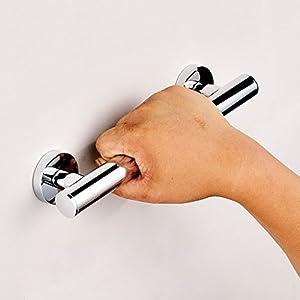 rostfrei Haltegriff Armlehne Edelstahl Alter Mann Sicherheitsbarriere Badewanne, Dusche, WC, Bad, Wand Anti-Rutsch-Griff