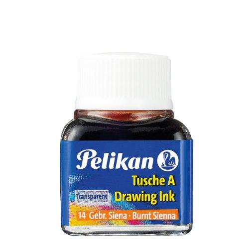 Pelikan A 523 Tusche A, 10 ml, gebrannte siena