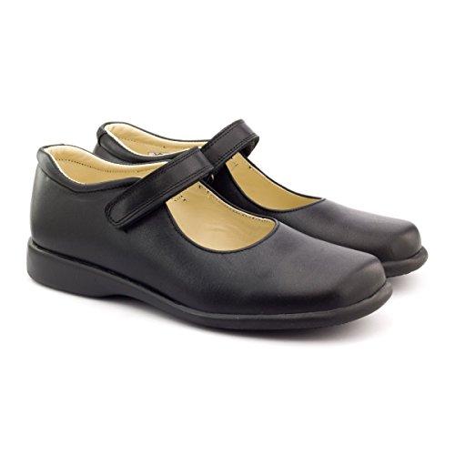 Boni College - chaussure fille noir