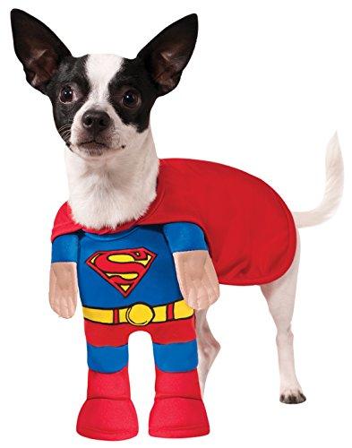 Superman-Kostüm Hund - Hunde Superman Kostüm