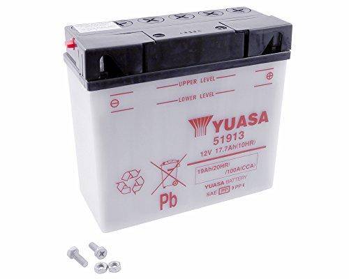 Batterie YUASA–51913Für BMW R1100R, LT, RS. RT 1100ccm Baujahr 94–01
