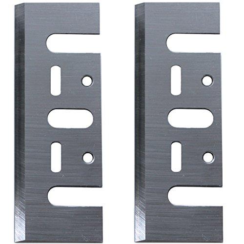 2x HSS Hobelmesser Ersatzmesser 82x29x3mm für Elektrohobel Hitachi F20 / FP20A / P20V / P20SA