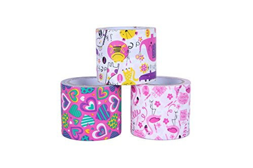 Multicolor 1.88 Inches x 10 Yards Duct Tape Darice 30079689 Patterned Splatter Paint