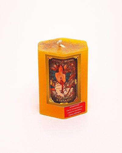 Angst und Traurigkeit Kräuter Kerze Wicca Pagan -