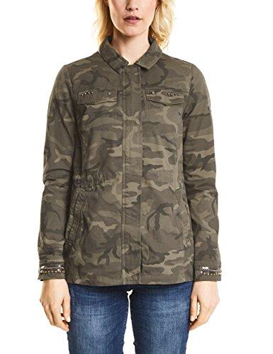Cecil Damen Jacke 210602 Grün (Smoky Khaki 31094) 38 (Herstellergröße: M)