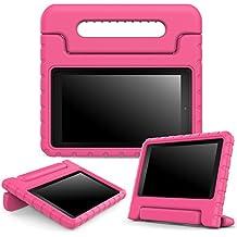 """MoKo BC28713 7"""" Cover case Magenta funda para tablet - fundas para tablets (17,8 cm (7""""), Cover case, Magenta, Amazon, Fire 7"""", Resistente al polvo, Resistente a rayones, Resistente a golpes)"""