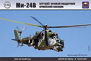 "Ark Models AK72038 - Escala 1:72 ""Mil Mi-24V Aerospace Force Attack Helicopter Modelo de plástico"
