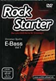 Rock starter 1 - arrangiert für mit DVD - E-Bass [Noten / Sheetmusic] Komponist: Spohn Christian