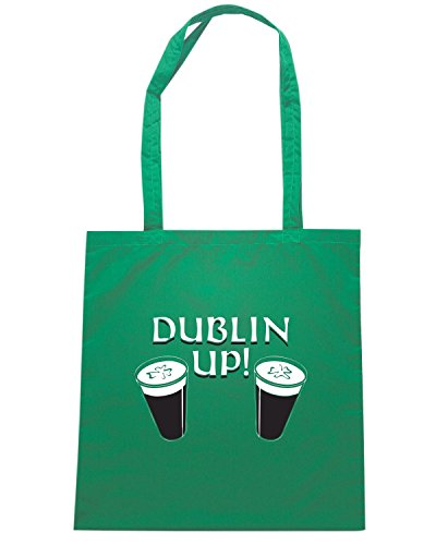 T-Shirtshock - Borsa Shopping BEER0054 Dublin Up Verde