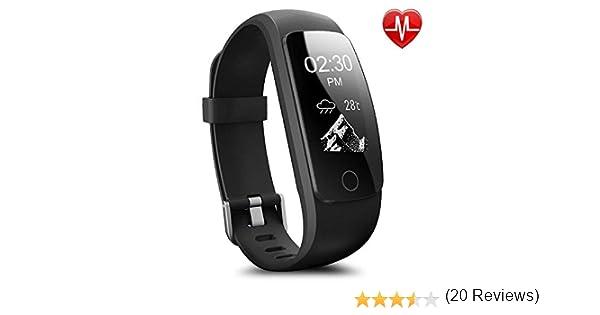 Montre Connectée,Willful SW333 Bracelet Connecté étanche Fitness Tracker dActivité Bracelet Sport avec Cardiofréquencemètre,Sommeil,Podomètre,Calories ...