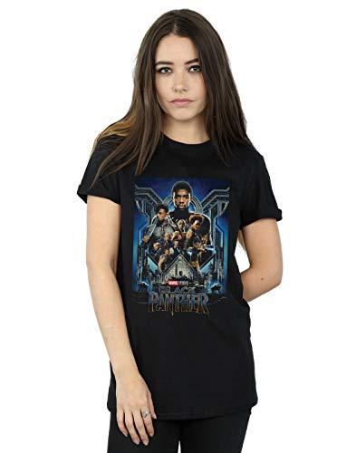 Marvel Studios Mujer Black Panther Poster Camiseta