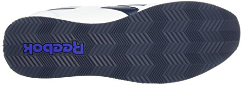 Reebok Royal Cl Jog 2l, Chaussures de Sport Homme Blanc (White/Collegiate Navy)