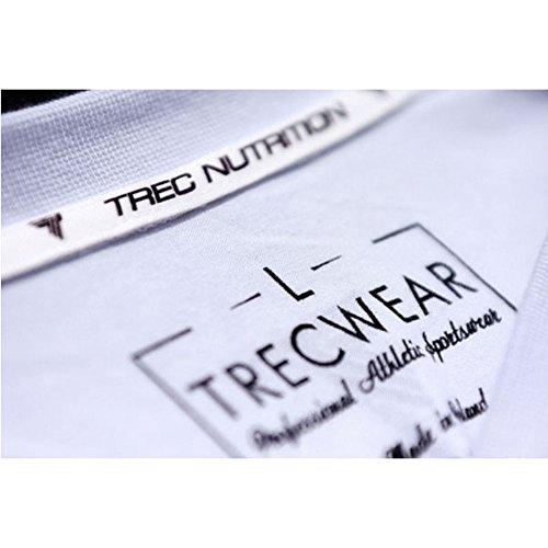 Trec Wear Maglietta tta Trec Team Logo athlets di alta qualità dal design sportivo confortevole White