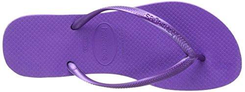 Violett 9461 purple Slim Damen Havaianas Zehentrenner wqzWt8OqX