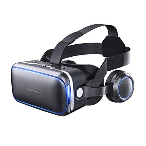 PXYUAN 3D-Brille Virtual Reality Headset für VR-Spiele und 3D-Filme, Virtual Reality-Brille VR-Brille Kompatibel mit Android und Anderen Handys innerhalb von 4,7-6,0 Zoll-Ordinary