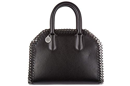 stella-mccartney-borsa-donna-a-mano-shopping-nuova-originale-mini-falabella-nero