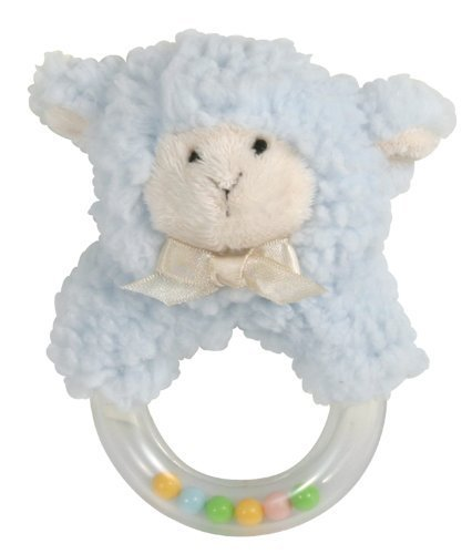 stephan-baby-sherpa-plush-woolly-lamb-ring-rattle-blue-by-stephan-baby