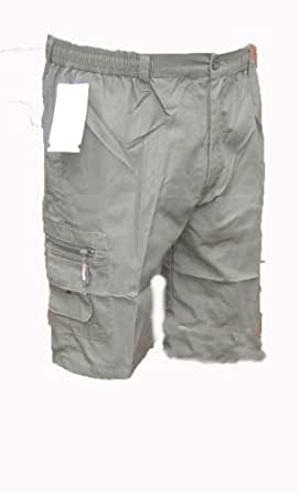 49ee7a1840 MENS casual cool smart multi pocket cargo shorts mens new size S M L XL XXL  3XL (