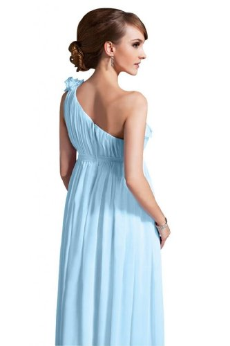 Lemandy - Robe -  Femme Bleu - Light Sky Blue
