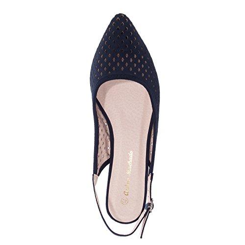 Andrés Machado.AM5176.Chaussures en SuédinePetites Pointures 32/35-Grandes Pointures 42/45 Bleu
