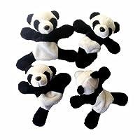 TAOtTAO 1Pc Cute Soft Plush Panda Fridge Refrigerator Sticker Gift Souvenir Decor