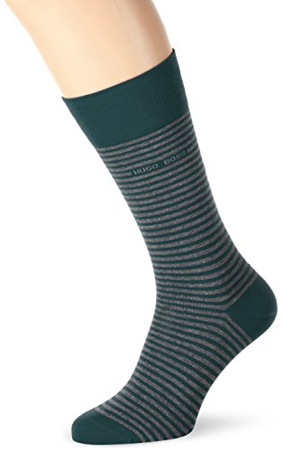 BOSS Hugo Boss Herren Socken Marc Design Grün (Medium Green 312)
