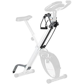 Ultrasport Set de accesorios F-Bike, equipamiento para bicicleta estática, accesorios para bicicleta de fitness, bicicleta estática, ampliación para el ...