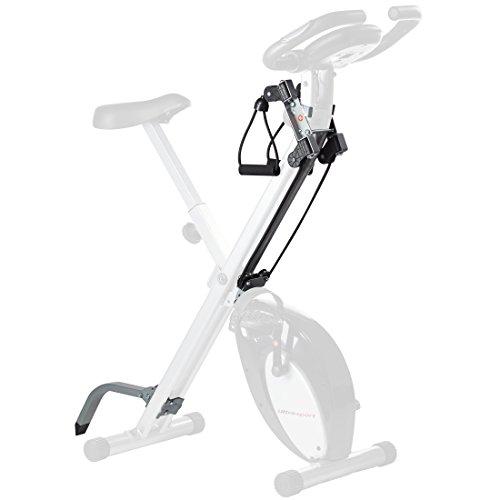 Ultrasport Set de accesorios F-Bike, equipamiento para bicicleta estática, accesorios para bicicleta de fitness, ampliación para el entrenamiento formado por cintas de resistencia y apoyo F-Bike