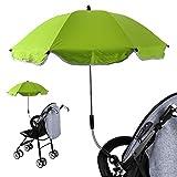 RainBabe Parapluie pour Bébé Poussette Protection UV Ombre 360 Degrés Pliable...