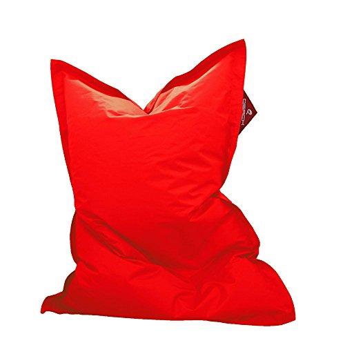 Kindersitzsack QSack Outdoorer, mit Innensack und deutscher Qualitätsfüllung, 100 x140 cm (rot)
