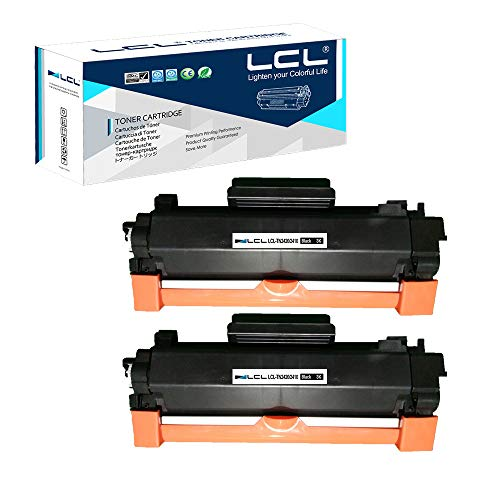 LCL Cartucce di Toner Compatibile TN2420 TN-2420 TN2410 TN-2410 3000Pagine Senza chip (2 Nero) Sostituzione per Brother HL-L2375DW DCP-L2550DW MFC-L2715DW MFC-L2750DW HL-L2386DW HL-L2385DW HL-2370DW