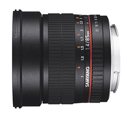 Samyang 85mm F1.4 Objektiv für Anschluss Nikon AE - 4