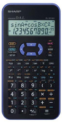 EL-531 XH-VL, wissenschaftlicher Schulrechner, 2-zeilig, Farbe violett, SEK I&II, 272 Funktionen, Batterie