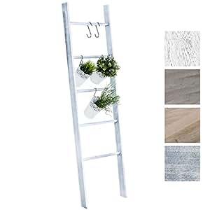 Clp scala decorativa mariette in legno con 5 pioli for Scaletta decorativa