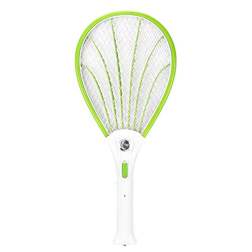 LED Electric Bug Zapper Raqueta Fly, ABEDOE Fly Swat Wasp Bug en...