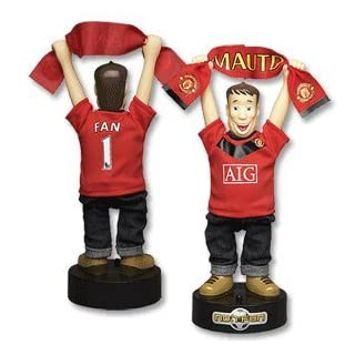 Official Licensed Merchandise Manchester United No 1 Fan Football Gift