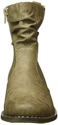 Rieker Z4157, Bottes Classiques Femme Beige (Kiesel/64)