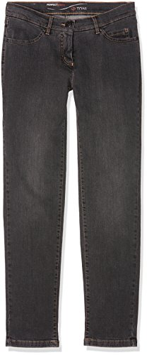 Toni Damen Jeans (Schmales Bein) Perfect Shape Slim Grey (dark grey used 862)