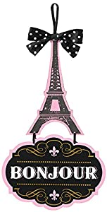 Amscan International-241692signsign DLX tablero DM día en París