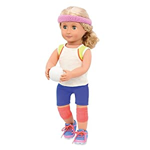 Nuestra Generación Caída para Voleibol Traje de la muñeca