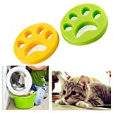 Removedor de Pelo para Mascotas de 2 Piezas para lavandería - Reutilizable Quite el Pelo de los Gatos y los Perros en la Ropa, Herramienta de Limpieza del Cabello de Animales para Lavadora