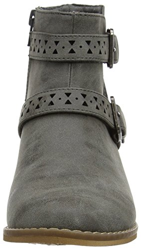 Rocket Dog Damen Mack Biker Boots Grey (Heirloom Grey)