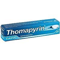Preisvergleich für Thomapyrin classic Tabletten, 20 St.