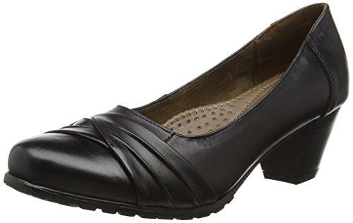 Cushion Walk Women's flexible comfort shoes, Black (Black), 3 UK 36 EU